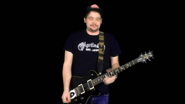 In The Style Of Tom Morello: Part 2, Main Riff